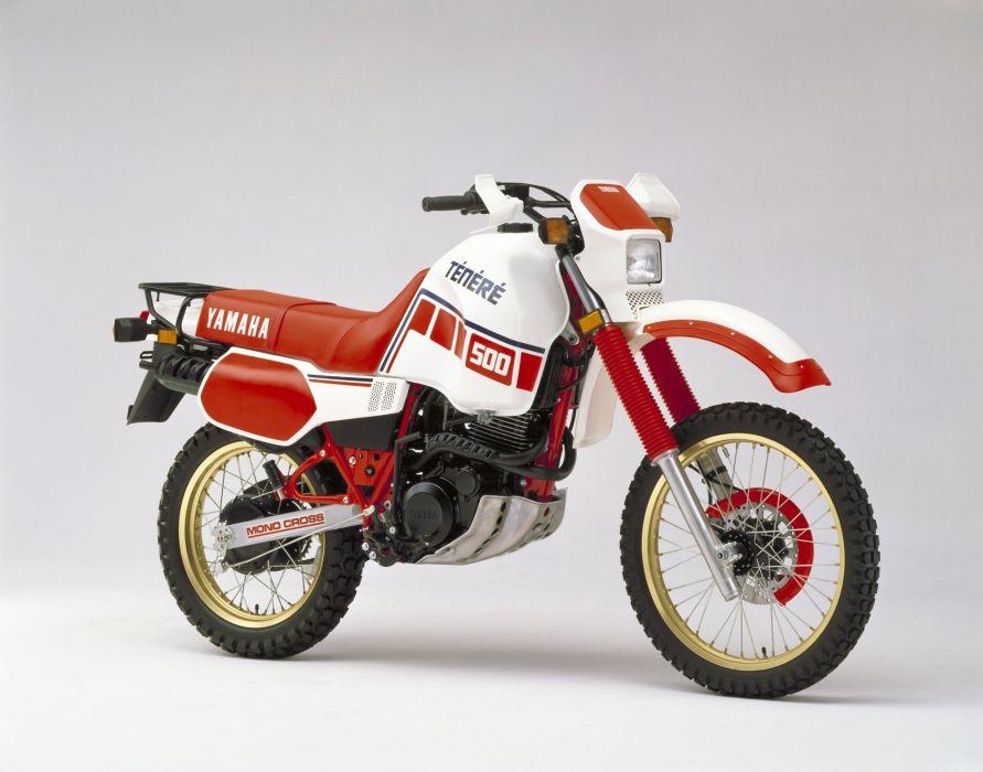 Yamaha XT500 motorcycles 1988 wallpaper