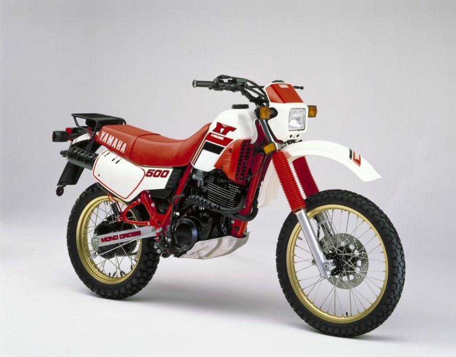 Yamaha XT500 motorcycles 1986 wallpaper