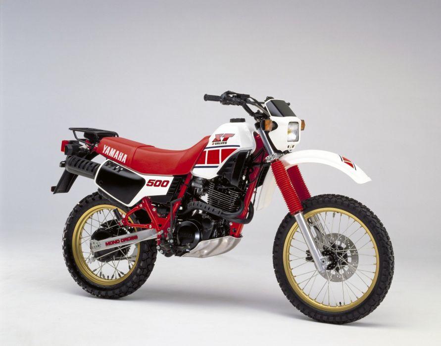 Yamaha XT500 motorcycles 1984 wallpaper