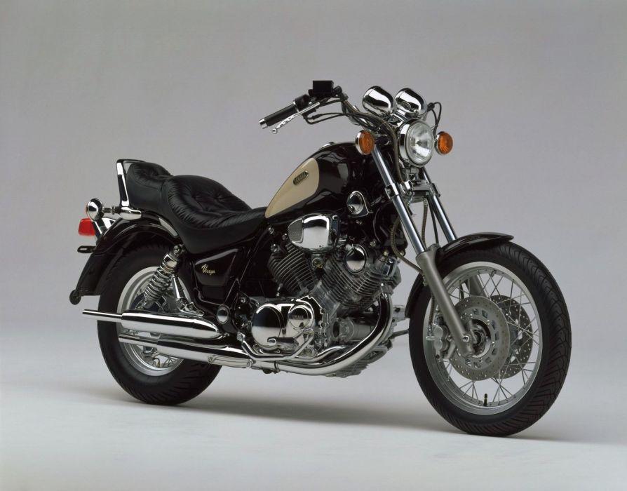 Yamaha XV750 Virago motorcycles 1995 wallpaper