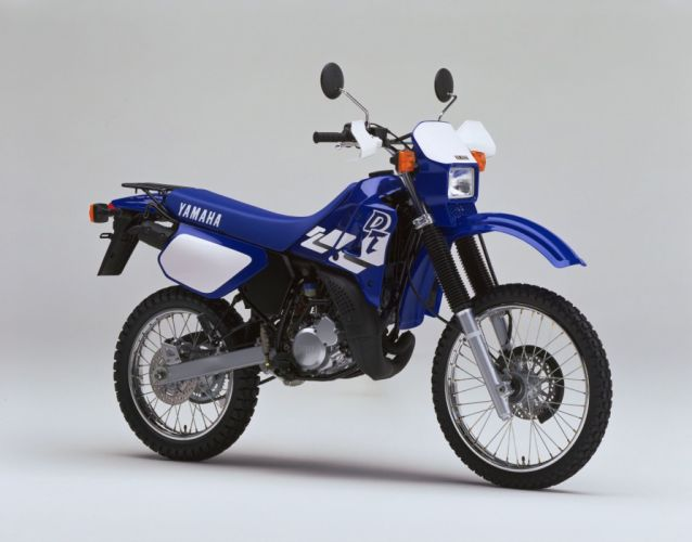 Yamaha DT125R motorcycles 2000 wallpaper
