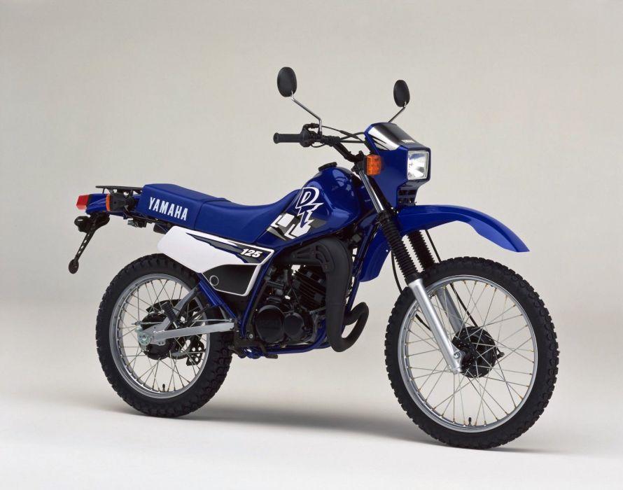 Yamaha DT125 motorcycles 1999 wallpaper
