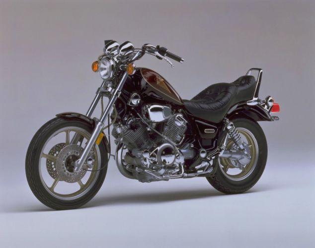Yamaha XV750 Virago motorcycles 1997 wallpaper