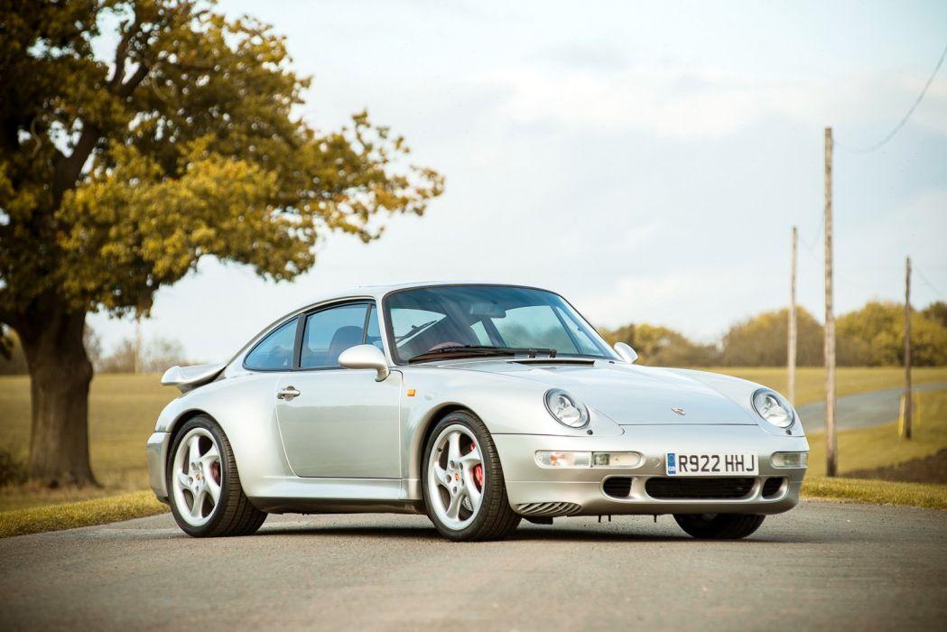 Porsche 911 Turbo (3 6) UK-spec Coupe (993) cars 1995 wallpaper