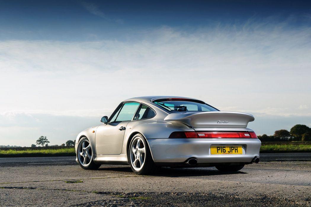 Porsche 911 Turbo (3 6 ) Coupe UK-spec (993) cars 1995 wallpaper