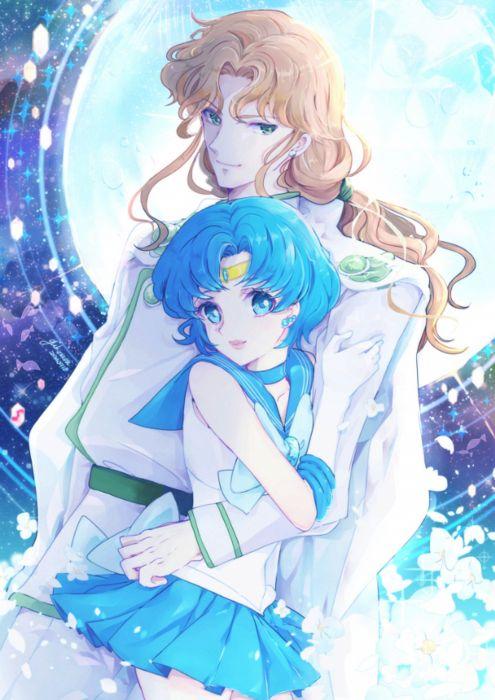 original anime girl Sailor Moon Characters Mizuno Ami Sailor Mercury Zoisite wallpaper