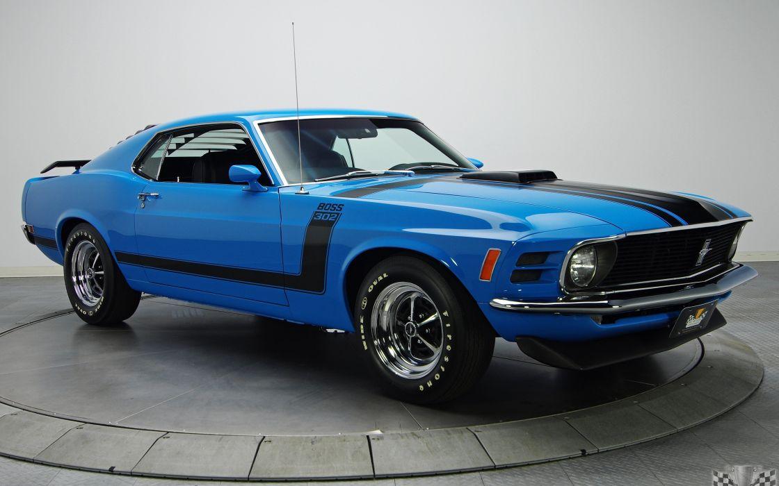 1970 Ford Mustang Boss 302 wallpaper