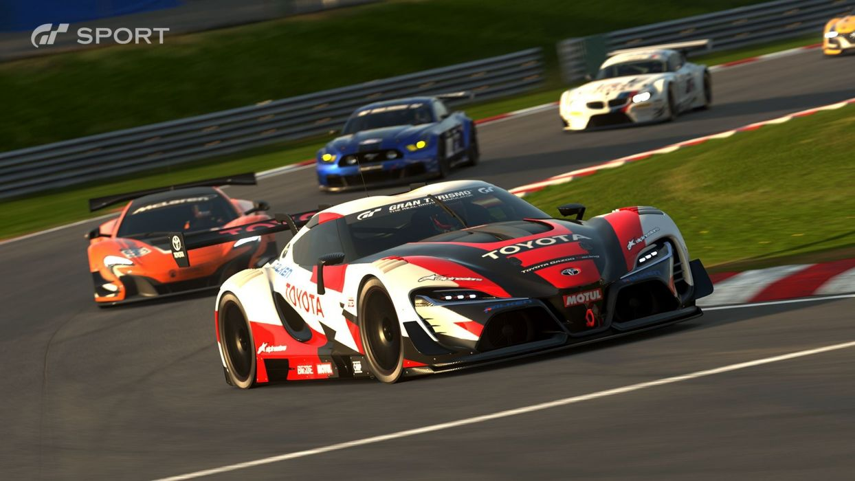 Gran Turismo Sport cars videogame 2017 wallpaper