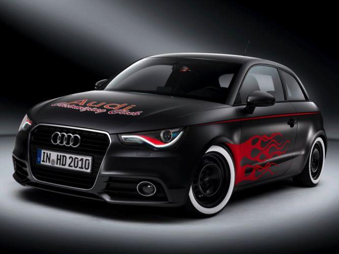 Audi A1 Hot Rod 2010 wallpaper
