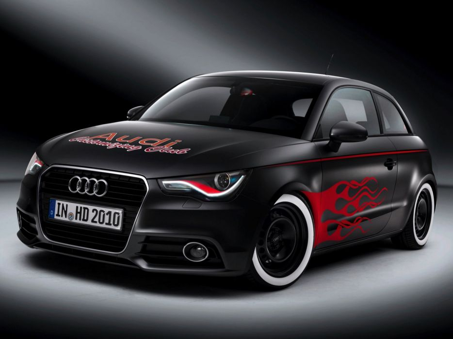 Audi A1 Hot Rod 2010 wallpaper