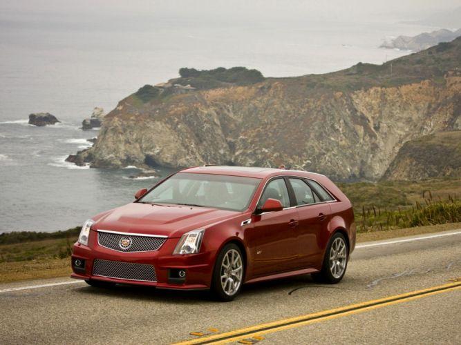 Cadillac CTS-V Sport Wagon 2011 wallpaper