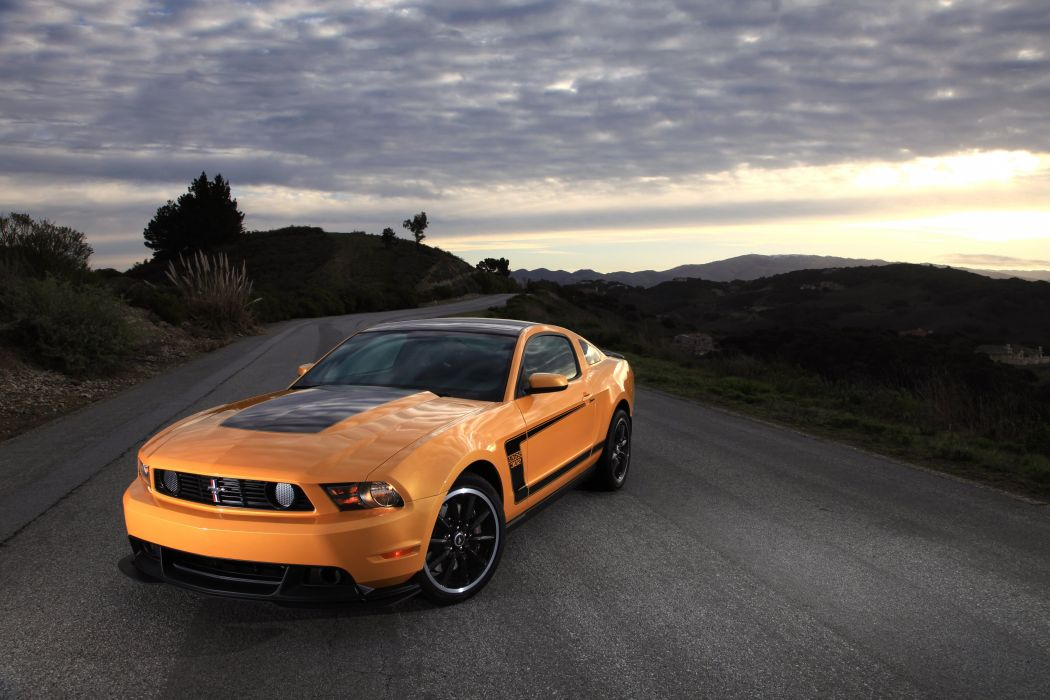 Ford Mustang Boss 302 2012 wallpaper