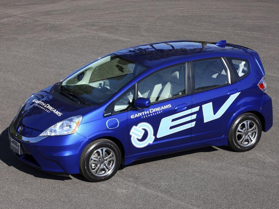 Honda Fit EV Concept 2010 wallpaper