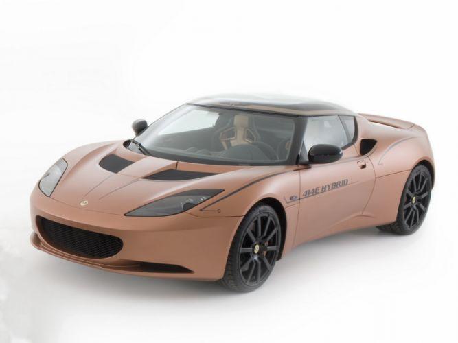 Lotus Evora 414E Hybrid Concept 2010 wallpaper