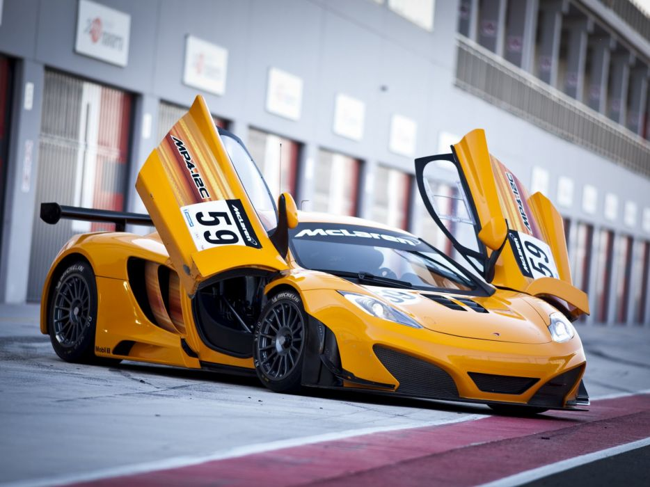McLaren MP4-12C GT3 2011 wallpaper