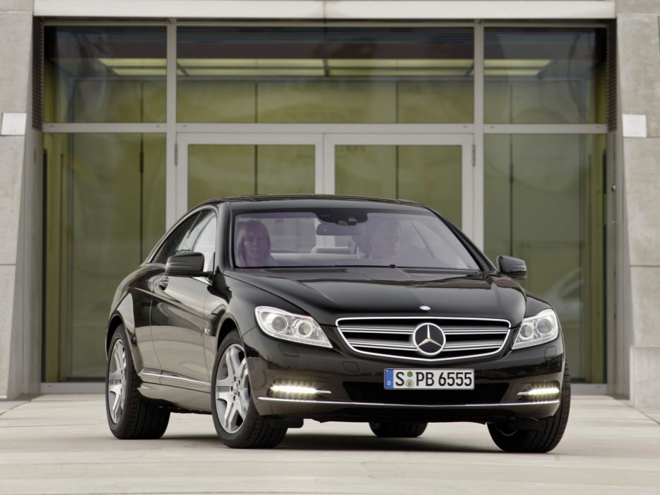 Mercedes-Benz CL600 2010 wallpaper