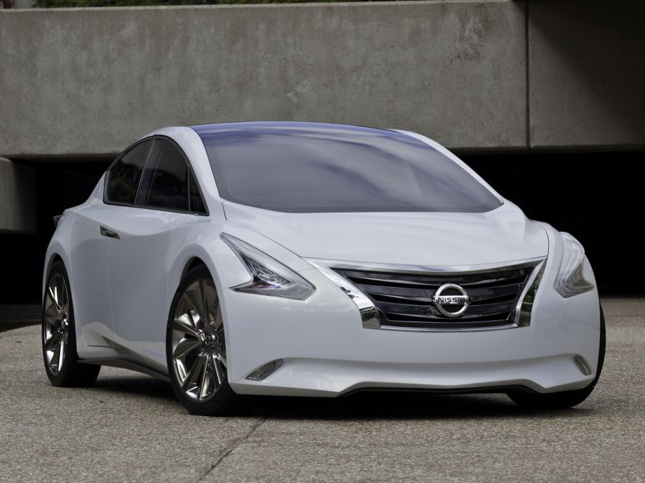 Nissan Ellure Concept 2010 wallpaper
