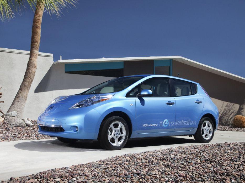 Nissan Leaf 2010 wallpaper