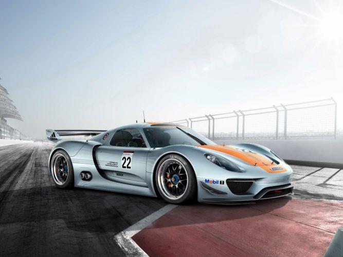 Porsche 918 RSR Concept 2011 wallpaper