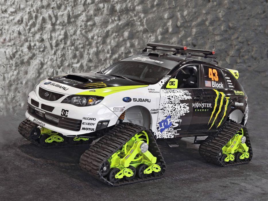 Subaru Impreza WRX STi TRAX Concept 2009 wallpaper