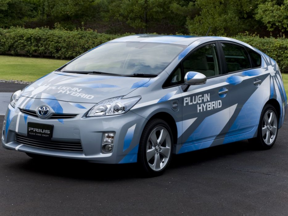 Toyota Prius Plug-In Hybrid Concept 2009 wallpaper