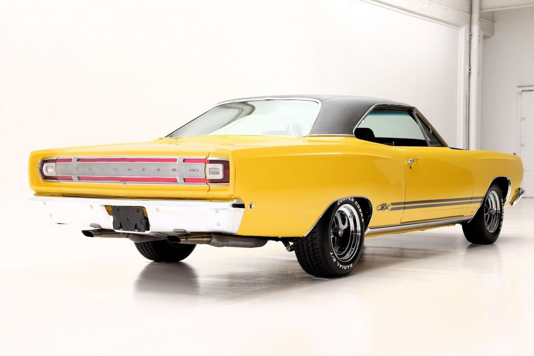 1968 plymouth gtx cars yellow wallpaper