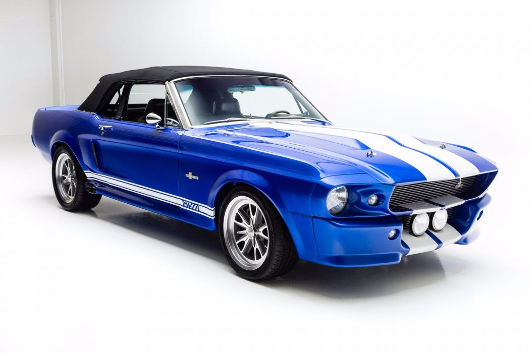 1967 ford mustang convertible eleanor cars blue wallpaper