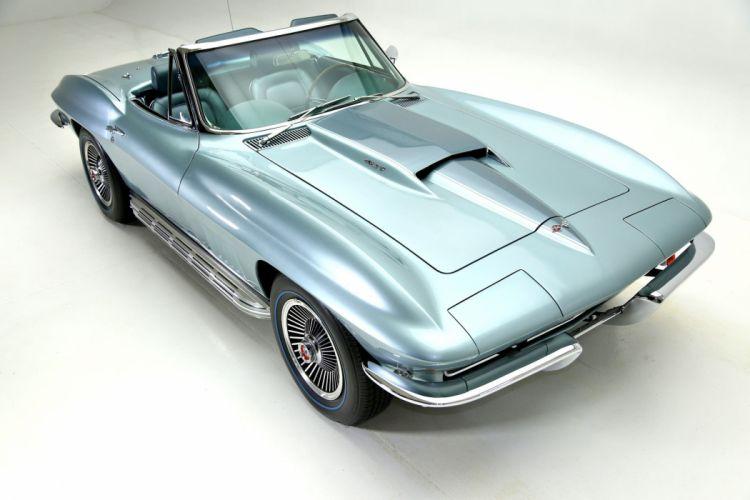 1967 chevrolet corvette 427 (c2) cars convertible wallpaper