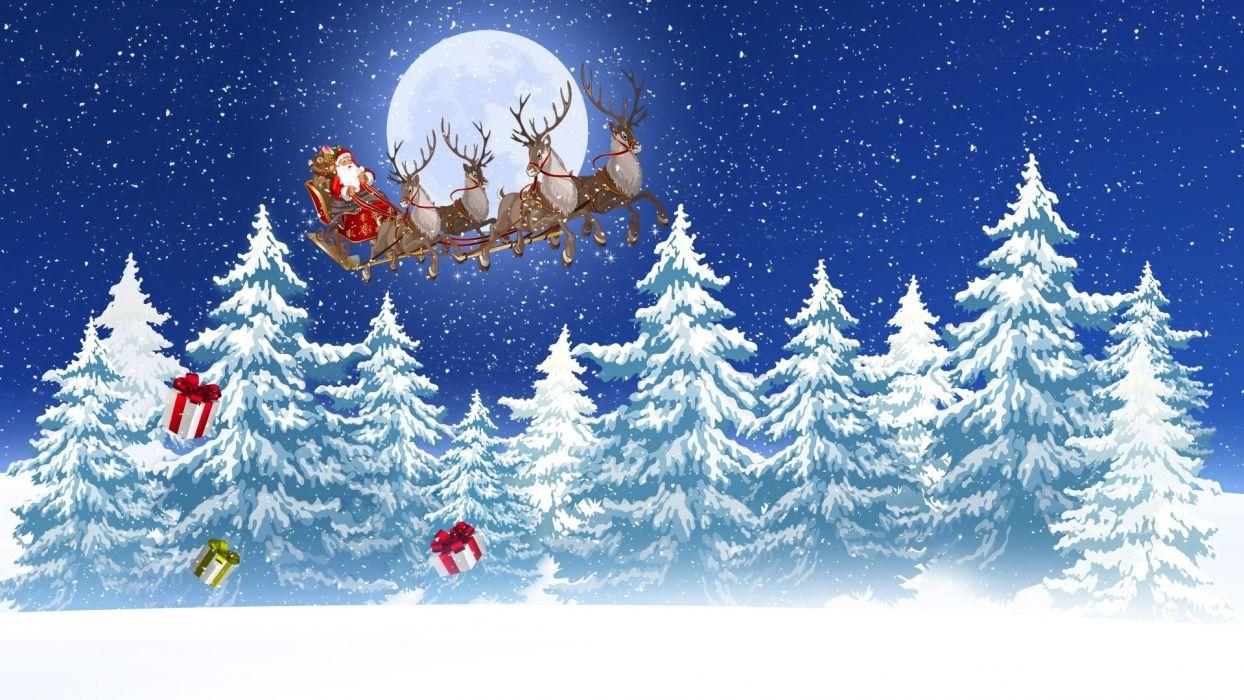 Santas Ride wallpaper