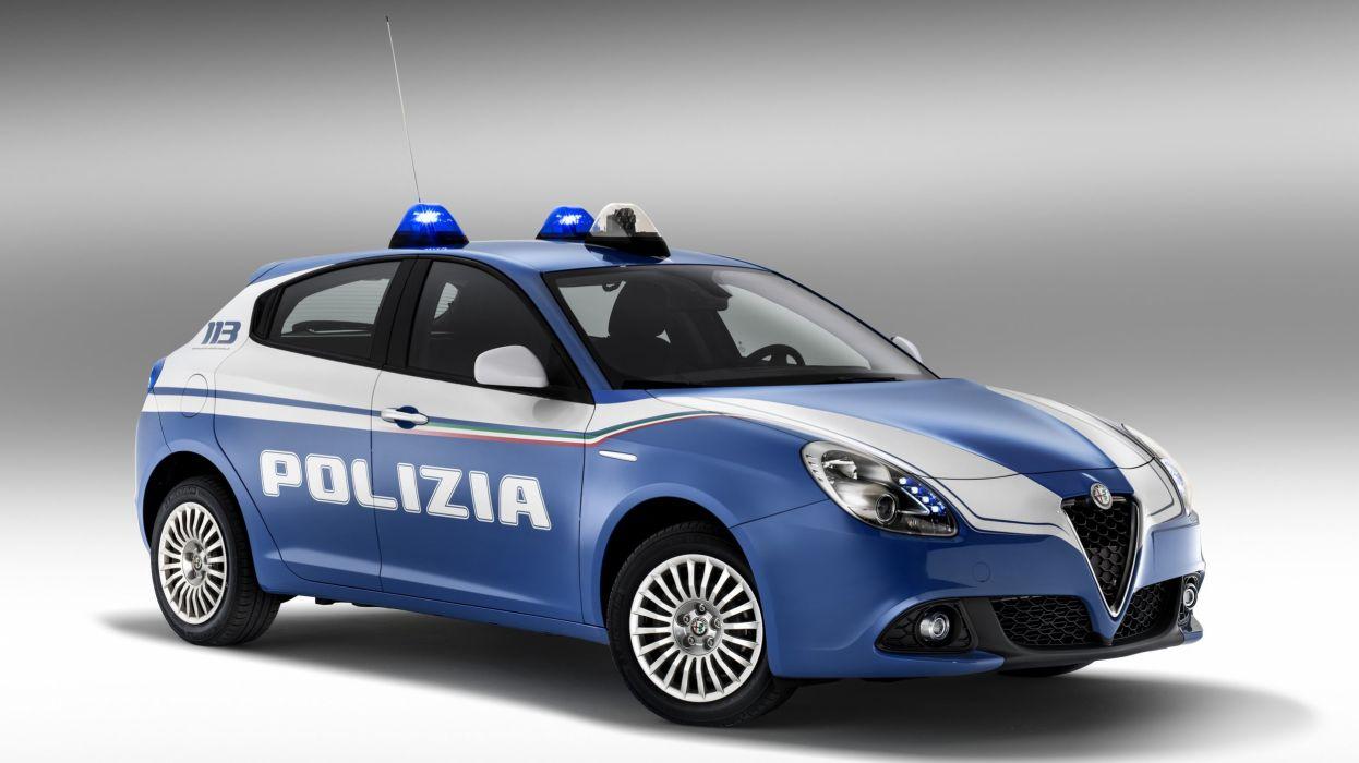 Alfa Romeo mito polizia cars italia wallpaper