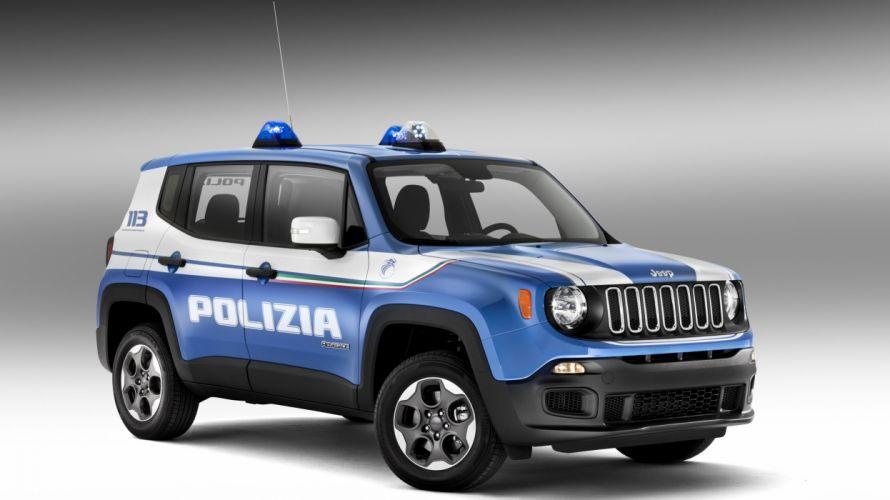 jeep renagade polizia cars italia wallpaper