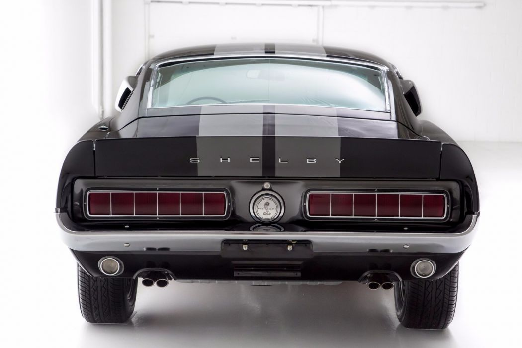 1968 ford mustang shelby gt350 cars fastback black wallpaper