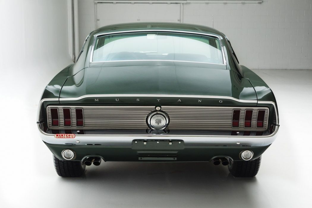 1967 ford mustang (gt) cars fastback green wallpaper