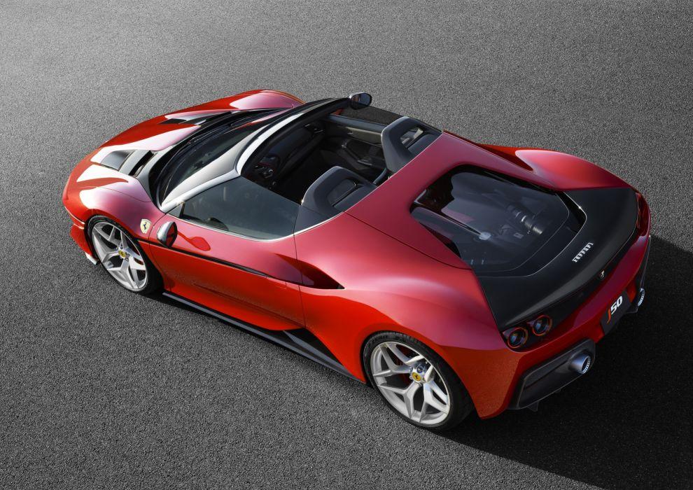Ferrari J50 cars supercars red 2016 wallpaper