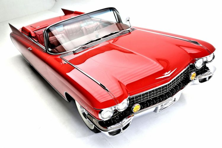 1960 cadillac eldorado biarritz convertible cars classic red wallpaper
