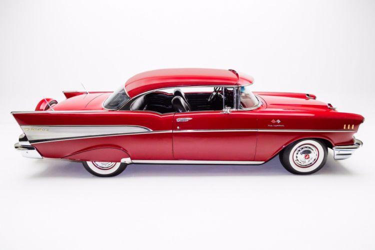1957 chevrolet bel air hardtop cars classic red wallpaper