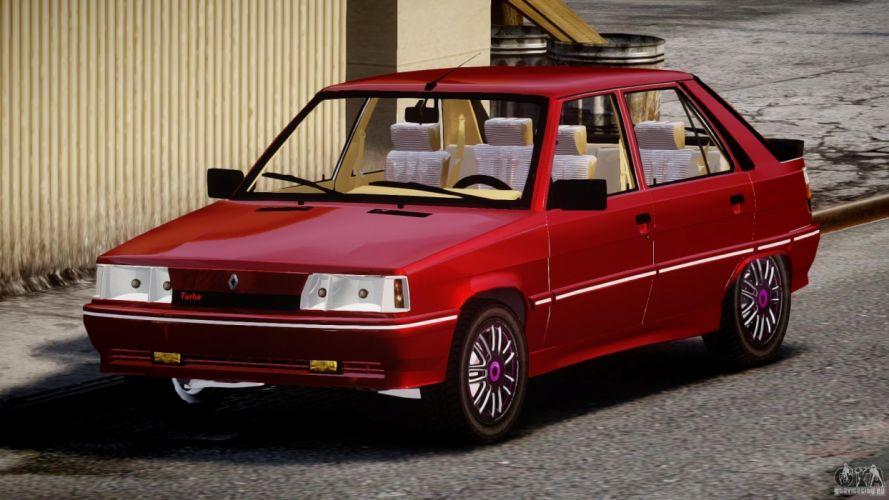 coche renault 11 rojo frances wallpaper