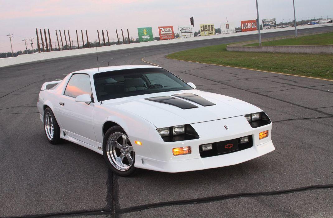 Chevrolet Camaro z28 cars white 1991 wallpaper
