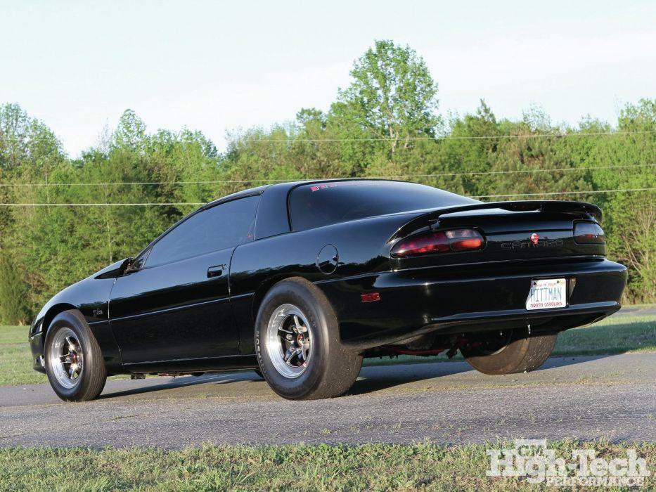 Chevrolet Camaro cars black 1997 wallpaper