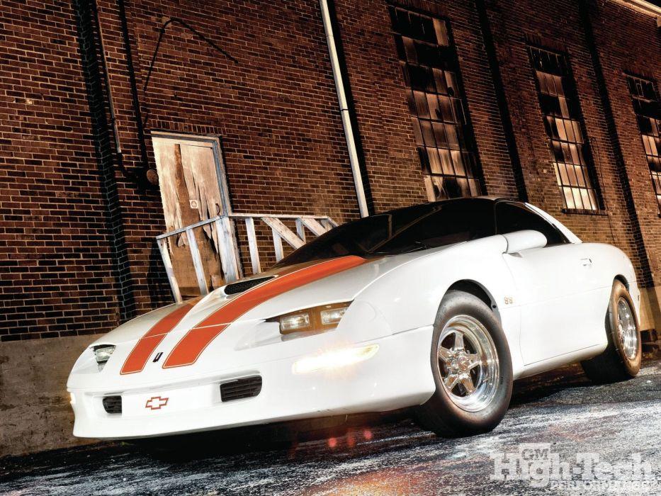 Chevrolet Camaro cars z28 1997 wallpaper