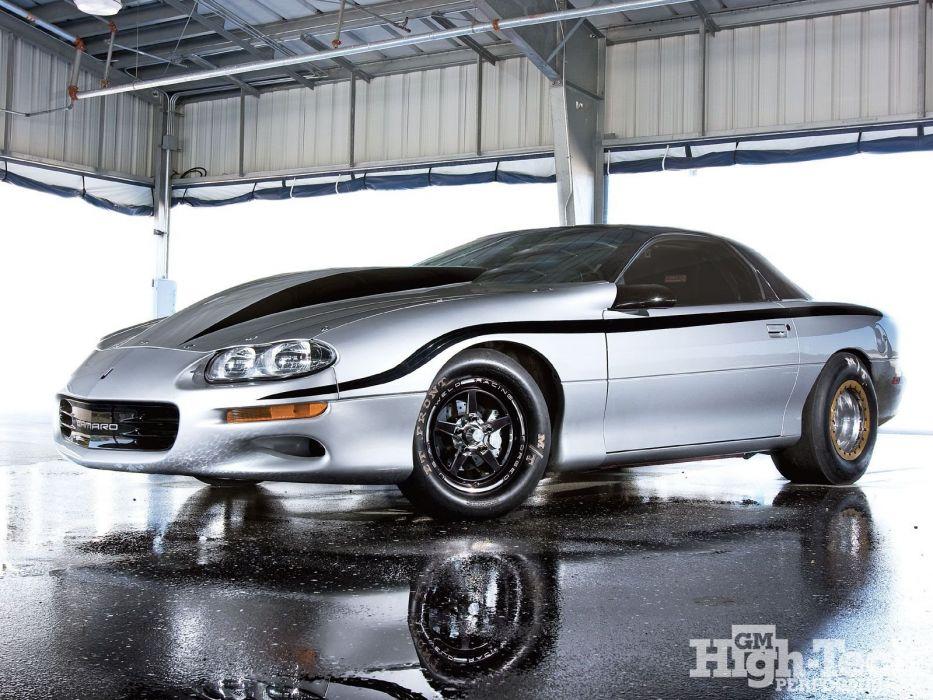 Chevrolet Camaro cars drag 1998 wallpaper