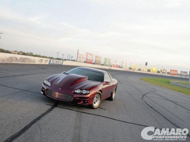 Chevrolet Camaro cars z28 2000 wallpaper