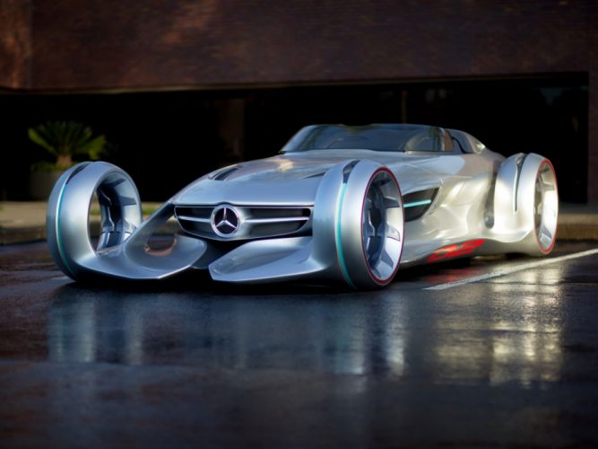 Mercedes-Benz Silver Arrow Concept 2011 wallpaper