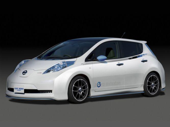 Nissan Leaf Nismo Concept 2011 wallpaper