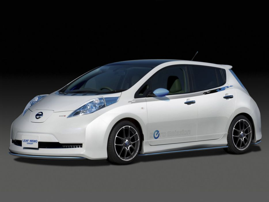 Nissan Leaf Nismo Concept 2011 wallpaper