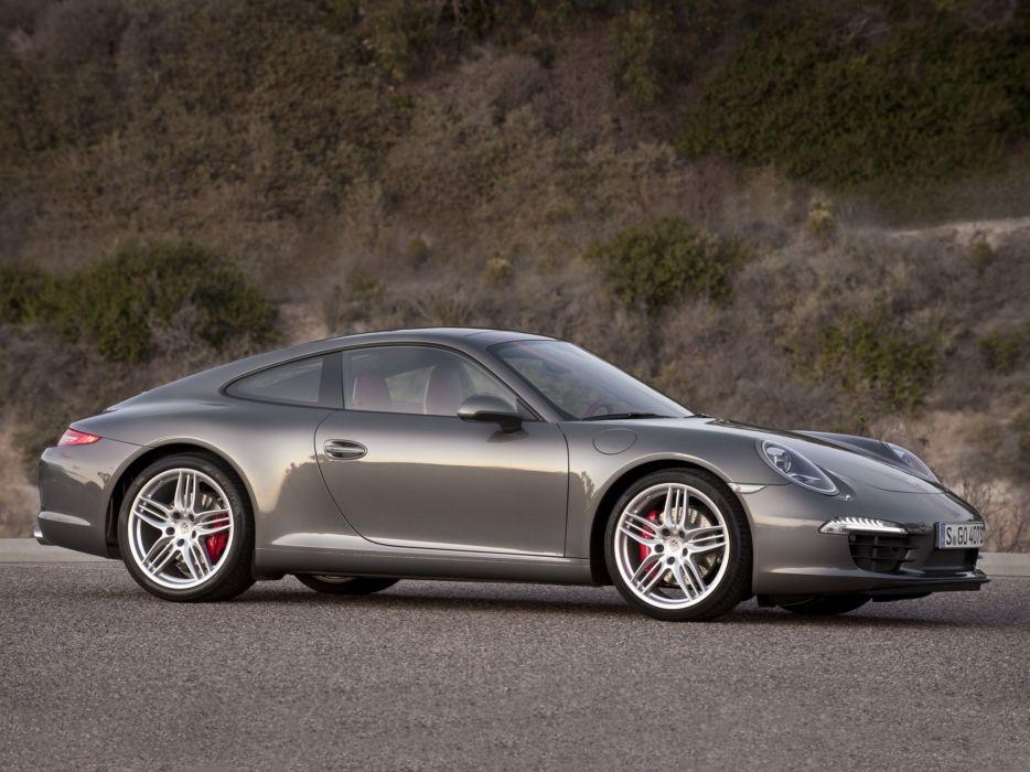 Porsche 911 Carrera Coupe 2011 wallpaper