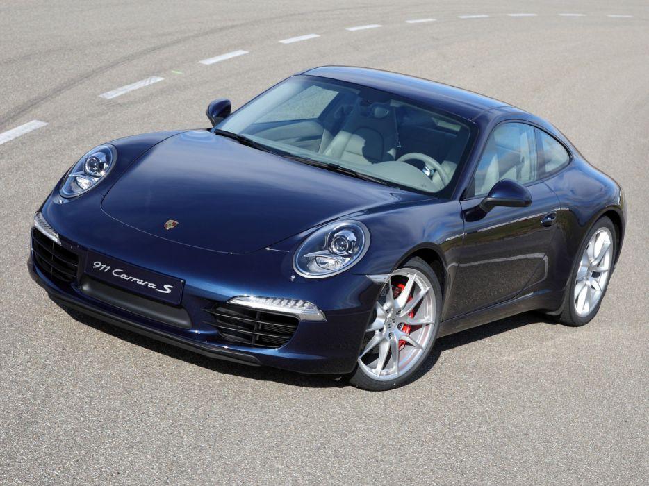 Porsche 911 Carrera S Coupe 2011 wallpaper