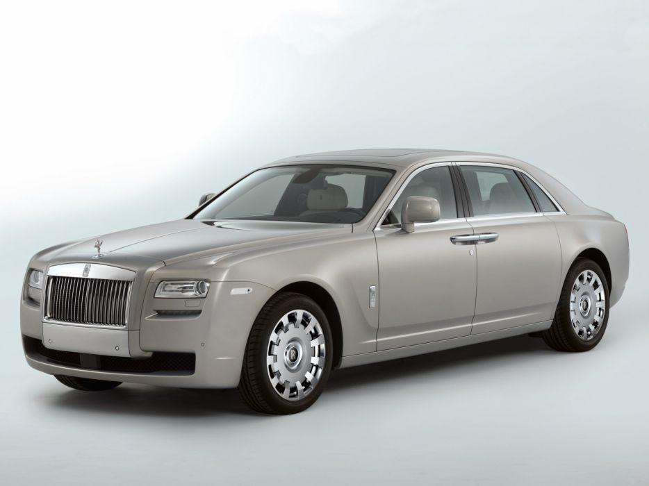 Rolls-Royce Ghost EWB 2011 wallpaper