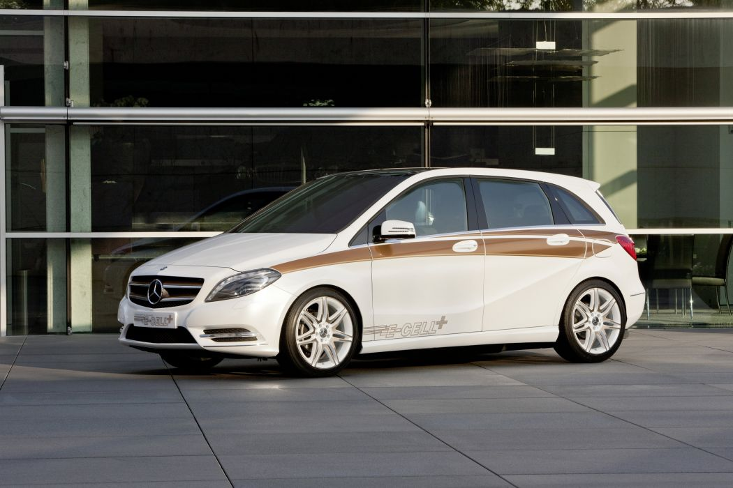 Mercedes-Benz B-Klasse E-CELL Plus Concept 2011 wallpaper