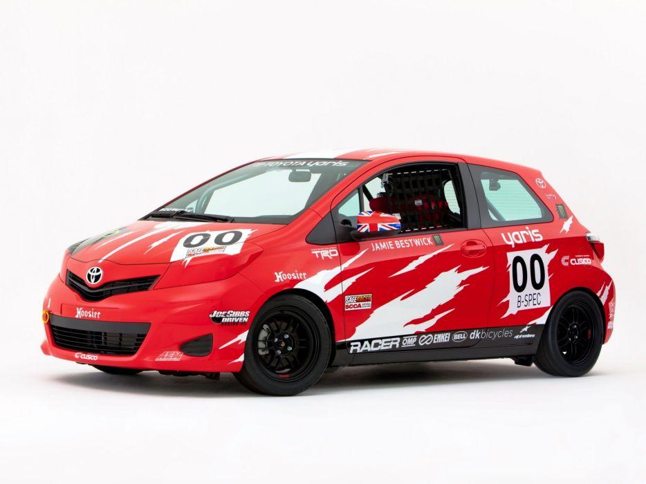 Toyota Yaris B-Spec Club Racer 2011 wallpaper
